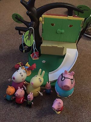 Peppa Pig Treehouse And Figures