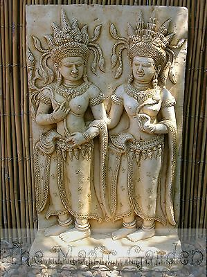 Bali buddha goddess concrete cement plaster plaque latex molds moulds