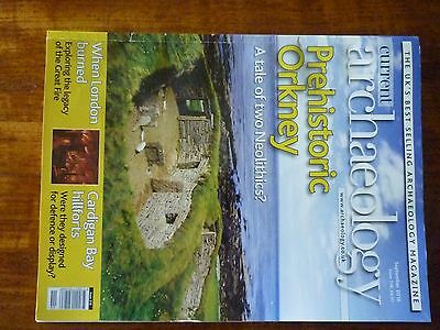 Current Archaeology magazine good condition - Issue 318