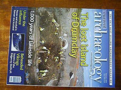 Current Archaeology magazine good condition - Issue 299