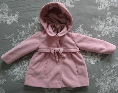 monsoon baby girls coat 18-24 months