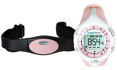 Target fitness heart rate monitor watch