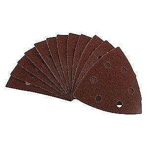 "EAZYPOWER Aluminum Oxide Emery Cloth Sanding Pad,AO,3-5/8"",PK5, 50611/BAG5"