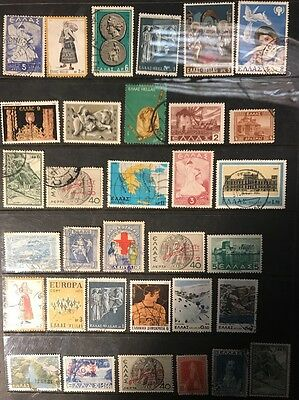 stamps Greece - MH and Used - Lot 50