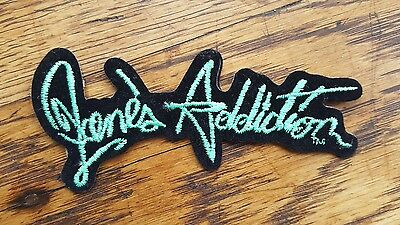 JANE'S ADDICTION Vintage Embroidered Patch 90s Nothing's Shocking Perry Farrell