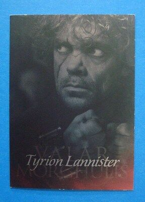 2014 **GAME Of THRONES** Valar MORGHULIS #G4 Season 4 Insert/Chase Card TYRION