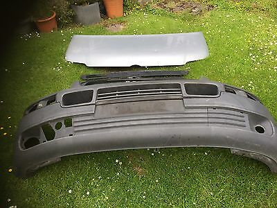 Vw Transporter T5 bonnet, headlights, bumper, grill other colours available