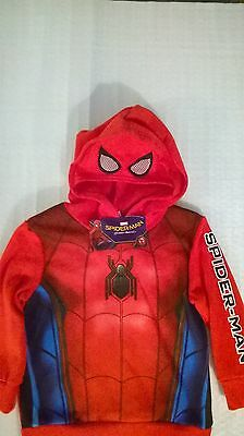 Marvel / Spiderman / Hoodie / Boys / Sizes 3, 4, 5, 6 and 7.