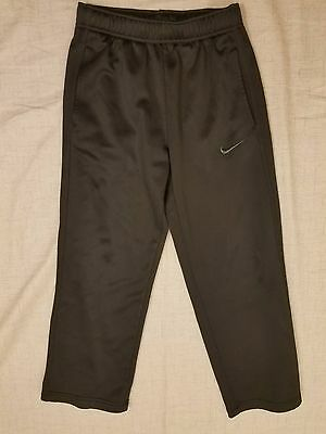 Nike Therma-Fit Kids Unisex Size Small Black Sweatpants Active Basic Lined K03