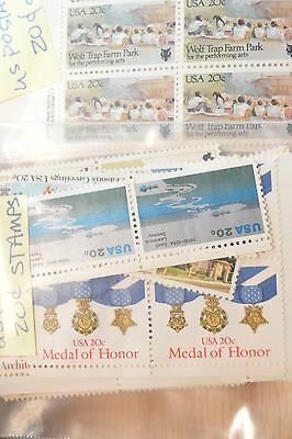 US POSTAGE $80 Mixed 20 Cent Stamps Start at 60% of Face Value 4165