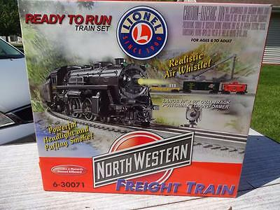 Lionel Menard's North Western Freight Set. 6-30071 O Scale.
