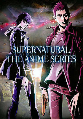 Supernatural: The Anime Series (DVD, 2011, 3-Disc Set) BRAND NEW SEALED