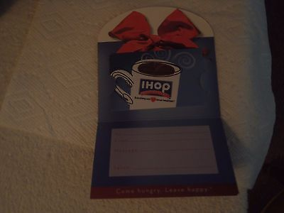 I-HOP $20.00 Gift Card (UNUSED) No Expiration Date