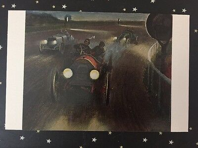 Postcard Unused New York, Brighton Beach 24 Hour Race July 30-31, 1909 Car # 3