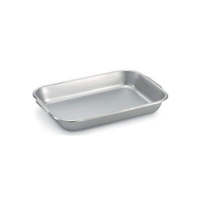 VOLLRATH Bake/Roast Pan,Stainless Steel,6-1/2 Qt., 61270