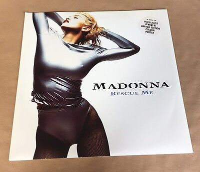 "Madonna - Rescue Me 12"" Vinyl (with Poster)"