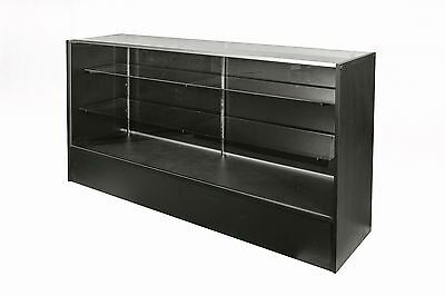 Black 1800mm glass display retail shop counter !!!BRAND NEW!!! shop fittings