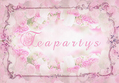 CUSTOM Pink Florals Ebay Compliant Auction Template Listing