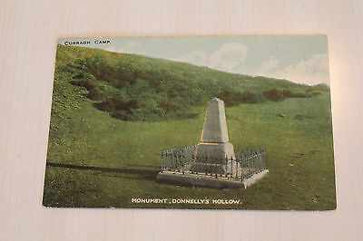 2 x Irish postcards: Ireland Kildare Curragh Camp Military - Donnelly's Hollow