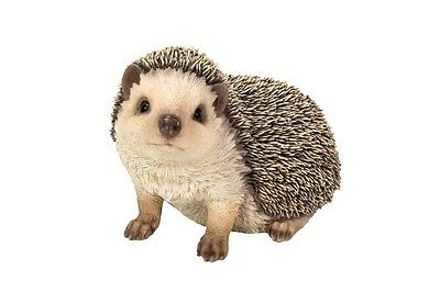 Life Like Hedgehog Standing New Home Garden Decor Realistic Statue Free Shipping
