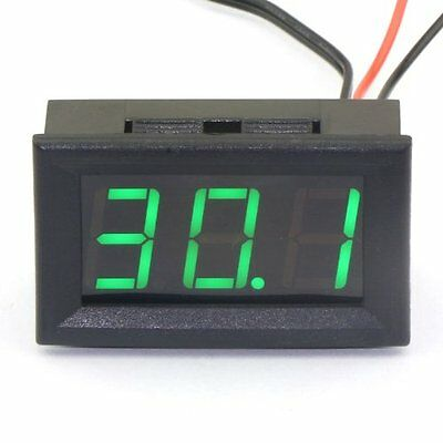 DROK® DC 12V Digital Thermometer Temperature Gauge -50~110°c Embedded Temp with
