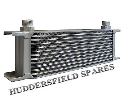 """13 Row Oil Cooler silver, 1/2"""" BSP, Universal, New"""