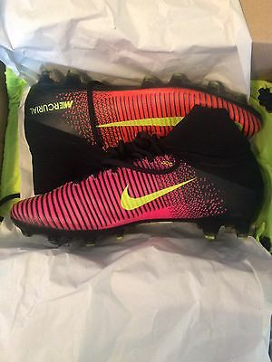 NIKE MERCURIAL SUPERFLY V AG PRO NEW SOCK FOOTBALL BOOTS SOCCER (UK Size 10.5)