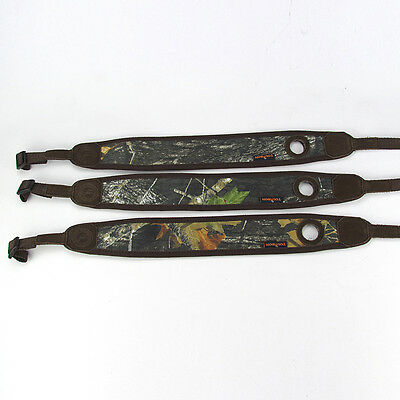Tourbon Gun Sling Non-slip Camo Neoprene Rifle With Thumbhole Hunting Adjustable