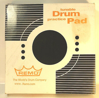 """Remo 8"""" Grey Tunable Drum Practice Pad W/ Tuning Key Model # RT000800"""
