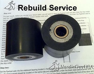Fix Your Slipping Nordictrack® Skier, Flywheel Clutch Roller Set Rebuild Service