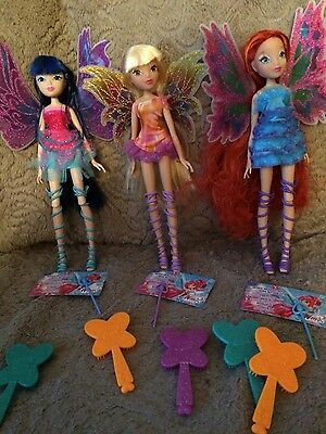 Winx Club Mythix Musa, Stella & Bloom