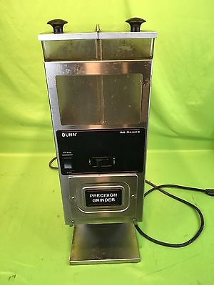 Bunn G9-2Hd G92Hd Portion Control Commercial Coffee Precision Grinder 2 Hoppers
