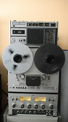 Akai Pro 1000 Reel To Reel Two Track Play/record/four Track Play-Rare !!!!