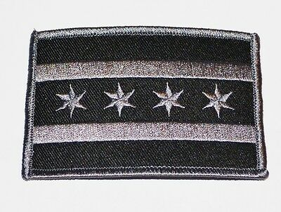 Chicago Police Subdued Tactical Flag Patch - New