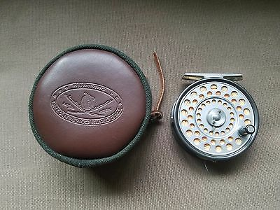 Hardy LRH Lightweight Fly Reel Made in England with 444 Fly Line Excellent Cond