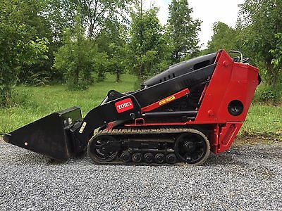 2012 Toro Tx427 Mini Track Skid Steer Loader Dingo 925 Hr Low Cost Shipping Rate