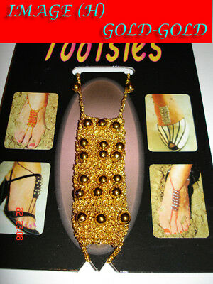 Footsie Jewellery ! for GYPSY TRIBAL Belly Dancing New