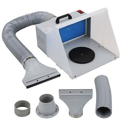 Voilamart Spray Booth Hose Kit Portable 5ft for Airbrush with Filter Extraction