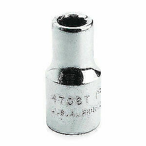 PROTO Alloy Steel Socket,1 in. Dr,2 in.,12 Pt., J5764