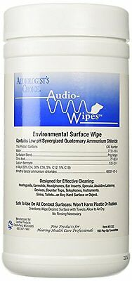 Audiowipes Disinfectant Towelettes Canister