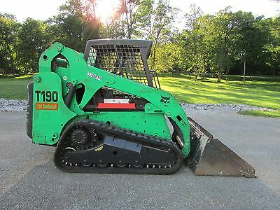 2011 Bobcat T190 Turbo  Track Skid Steer Loader / Excellent Cond /  1921 Hours