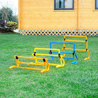 Removeable Football Training Mini Hurdle Jump Soccer Speed Agility Useful