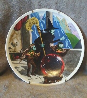 knowles wizard of oz plates