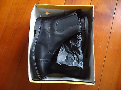 Horse Riding Boots Leather with Front Zip by Tuffa Never Worn