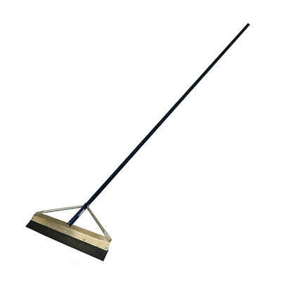 "KRAFT TOOL Floor Squeegee,Straight,48"" W, GG846, Black/Blue"