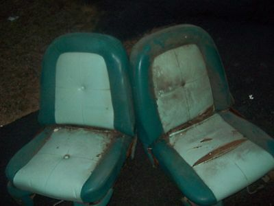 1960 Ford Thunderbird Front Seats With Tracks Parting Out