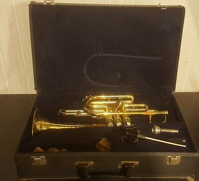 Conn Trumpet 16A With 7C Mouthpiece In Bach Case Made In Usa