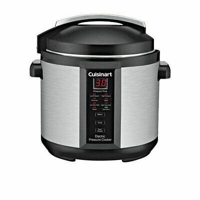 NEW Cuisinart Electric Pressure Cooker Plus 6 Litres 46421 3Y Warranty