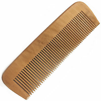 Wooden Hair Comb Anti-Static/Dandruff Eco-Friendly Natural Wood Mens Womens NEW
