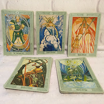 Aleister Crowley Tarot Cards Mirror of the Soul Complete Large Deck